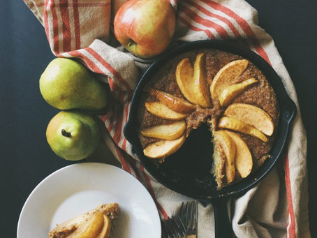 Apple and Pear Clafoutis