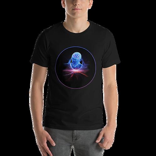Brain Head Cosmos Short-Sleeve Unisex T-Shirt