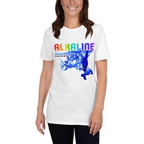 Alkaline Water Ask Me Short-Sleeve Unisex T-Shirt