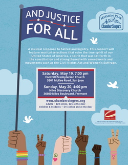 And Justice for All Event Poster