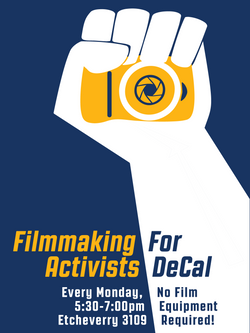 Filmmaking For Activists (Spring Ad)