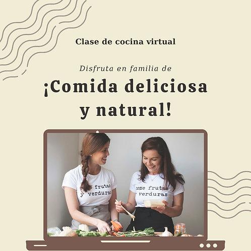 Virtual Cooking Class/ Class de Cocina Virtual