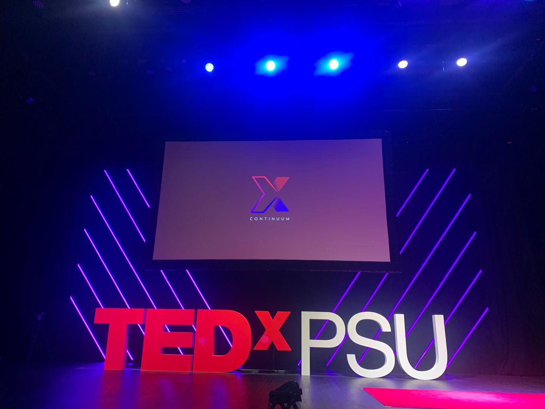 TEDx Continuum Stage