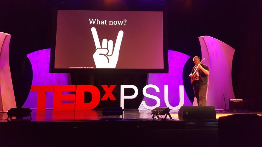 TEDxPSU Breach - Peter Buckland