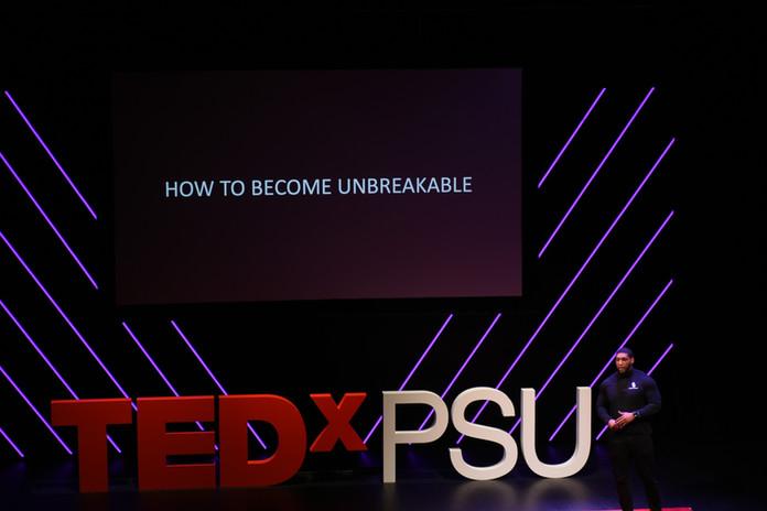 TEDxPSU Continuum - Devon Still
