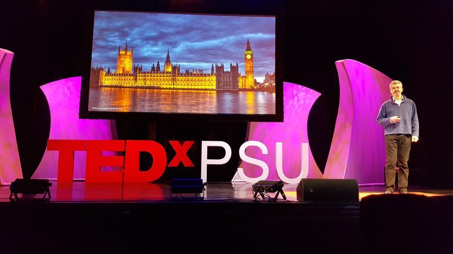 TEDxPSU Breach - Jonathan Marks