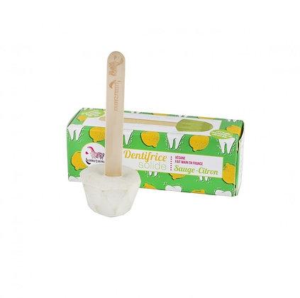 Dentifrice solide ~ Sauge-Citron