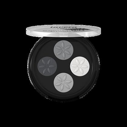 Beautiful Mineral Eyeshadow BIO - Quattro Smoky Grey 01