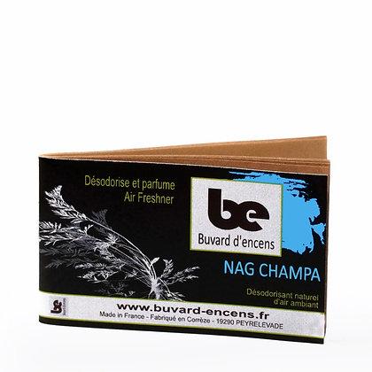 Buvard d'encens Nag champa