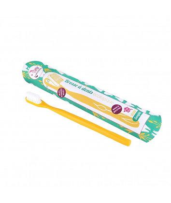 Brosse à dents rechargeable ~ jaune