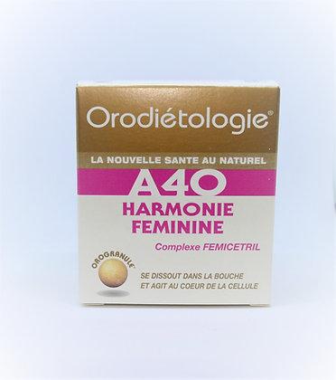A 40 Harmonie Féminine