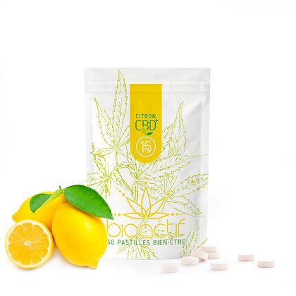 CBD pastilles 15mg - Citron