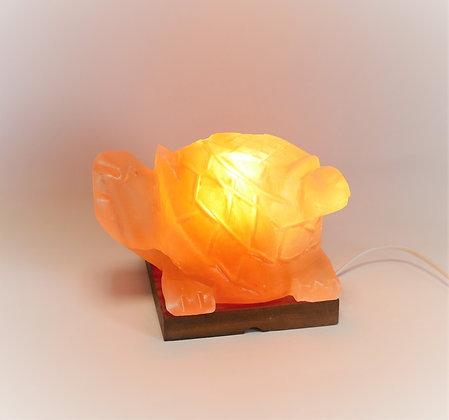 Lampe de Sel d'Himalaya ~ Tortue