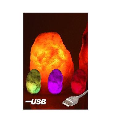 Lampe de Sel d'Himalaya ~ USB