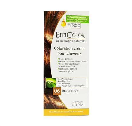 Coloration Crème EffiColor® 06-Blond foncé