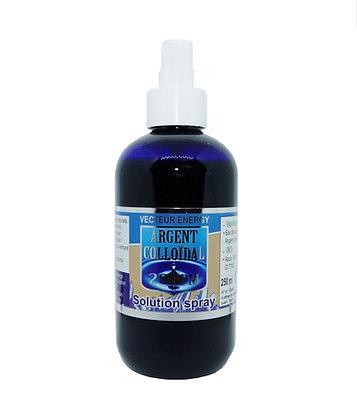 Solution Argent Colloïdal 20 ppm ~ vaporisateur 250 ml