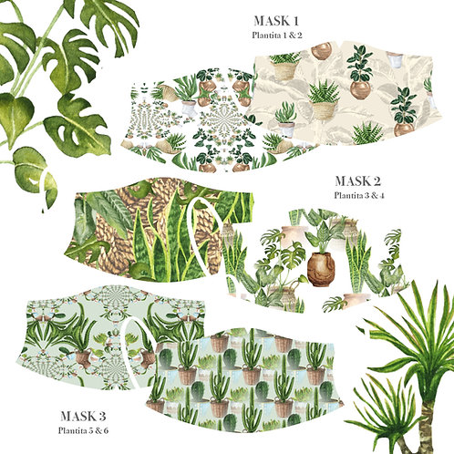 Plantita Masks (Pack of 3)