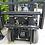 Thumbnail: Vmax 2 ton duplex mast met sideshift en 4 de hendel vrij