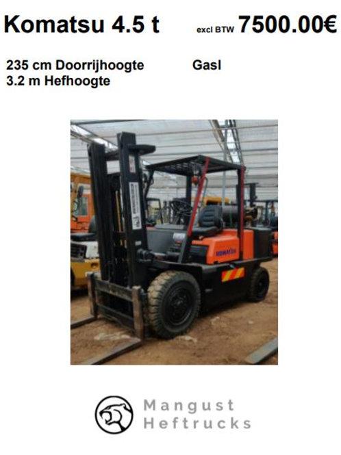 Komatsu 4.5 ton