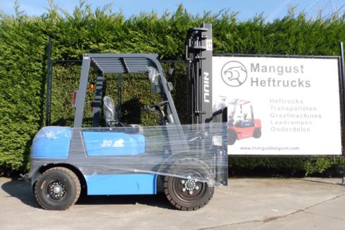 Niuli 3 ton duplex mast met sideshift