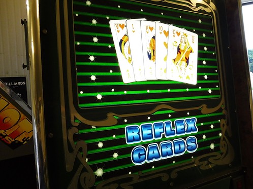 Reflex cards gokspel