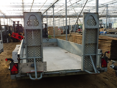 3 asser Machinetransporter Ifor Williams W 3500 KG