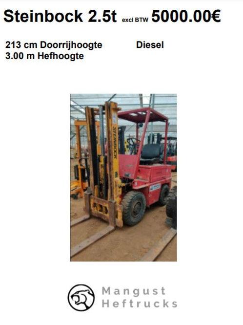 Steinbock 2.5 ton
