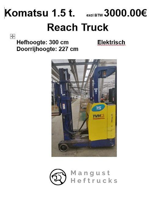 Reachtruck Komatsu 1.5 ton