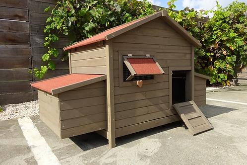 Bakira XL opengaand dak en mestlade