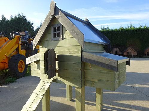 Campina 2 met gegalvaniseerd dak en mestalde