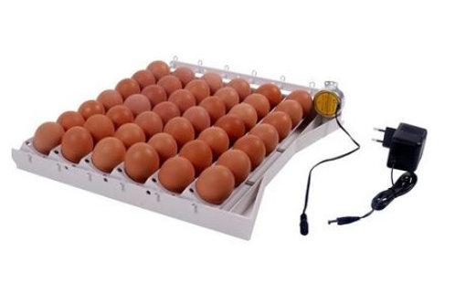 Automatisch keersysteem v 42 kippeieren optie uitbreidbaar n. 120 kwarteleieren