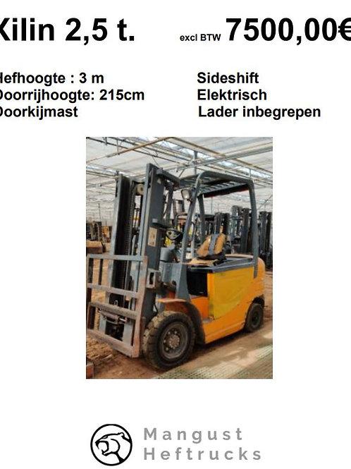 Xilin 2.5 ton met sideshift