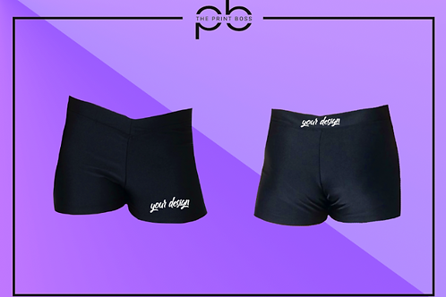 Glossy Hot Shorts - Print (C)