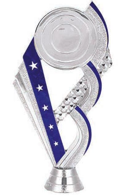 Blue 1 (Silver)