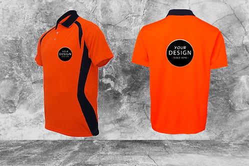 Hi-Vis Stripe Polo