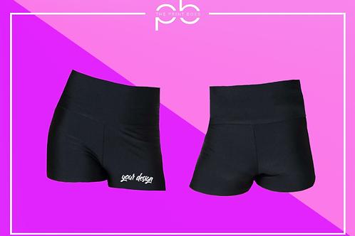 Glossy H/W Shorts - Print (A)