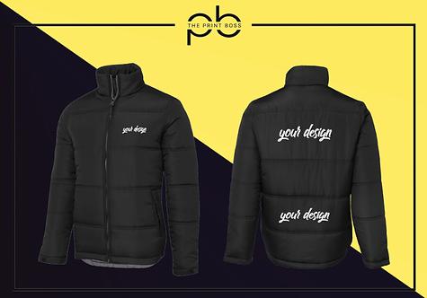 Puffer Jacket - Print (K)