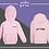 Thumbnail: Babies Zip Hoodie - (C)