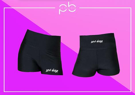 Glossy H/W Shorts - Print (C)