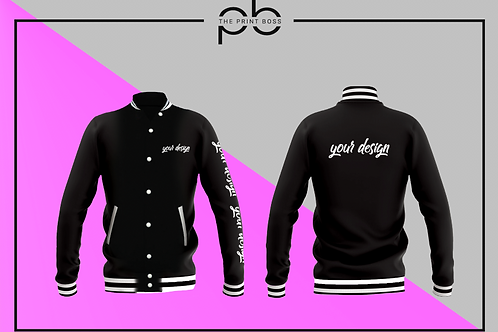 Varsity Jacket - Print (O)