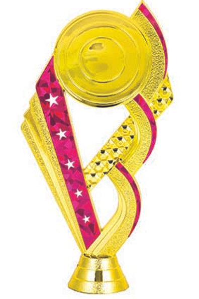 Pink 1 With Logo Gold