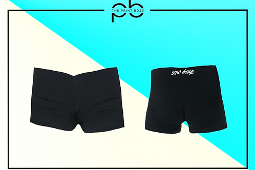 Cotton Hot Shorts - Print (B)