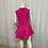 Thumbnail: Pink 1 Piece Dress/Leotard