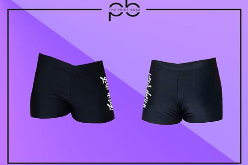 Glossy Hot Shorts - Print (D)