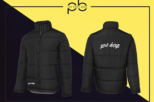 Puffer Jacket - Print (D)