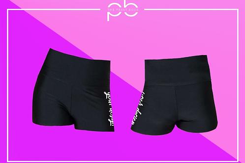 Glossy H/W Shorts - Print (D)