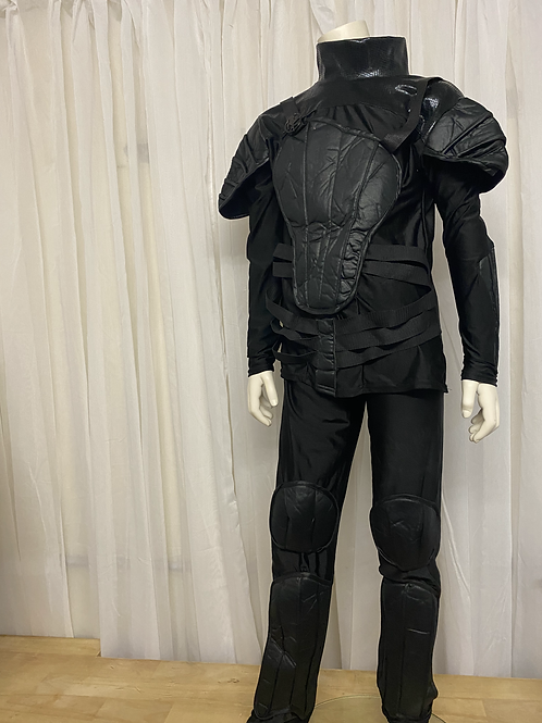 Black Hunger Games 2 Piece Costume