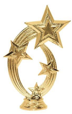 Shooting Star - Title Trophy