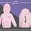 Thumbnail: Babies Zip Hoodie - (F)