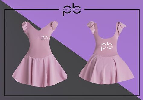 Cap Sleeve Dress - Print D